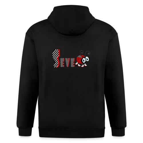 7nd Year Family Ladybug T-Shirts Gifts Daughter - Men's Zip Hoodie