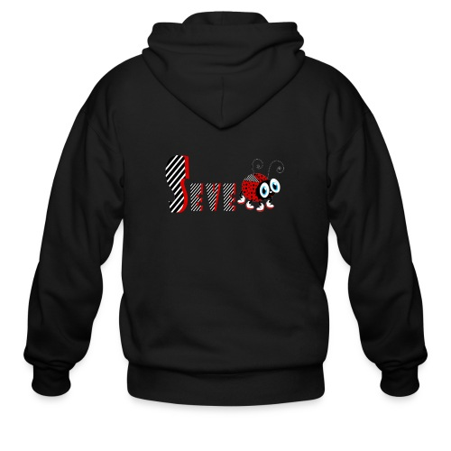 7nd Year Family Ladybug T-Shirts Gifts Daughter - Men's Zip Hoodie