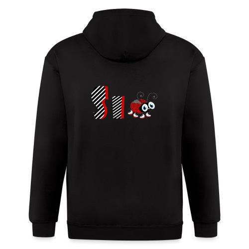6nd Year Family Ladybug T-Shirts Gifts Daughter - Men's Zip Hoodie
