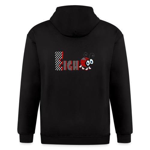 8nd Year Family Ladybug T-Shirts Gifts Daughter - Men's Zip Hoodie