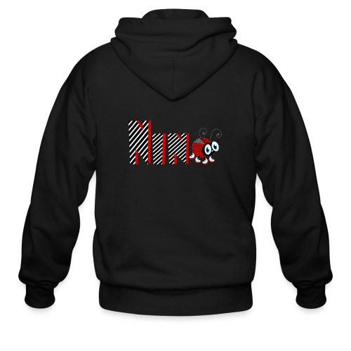 9nd Year Family Ladybug T-Shirts Gifts Daughter - Men's Zip Hoodie