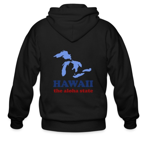 Geographically Impaired - Men's Zip Hoodie