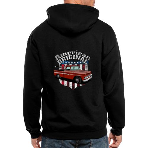 American Original RED - Men's Zip Hoodie