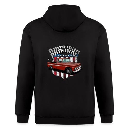 American Original RED - Men's Zip Hoodie