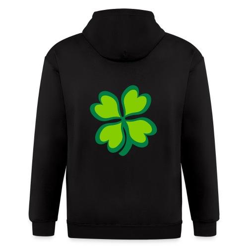 4 leaf clover - Men's Zip Hoodie