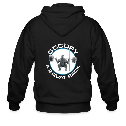 occupysquat - Men's Zip Hoodie