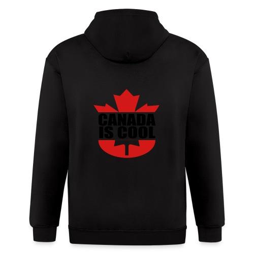 Canada is Cool - Men's Zip Hoodie
