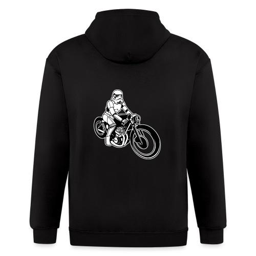 Stormtrooper Motorcycle - Men's Zip Hoodie