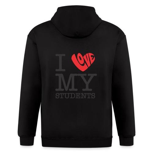 I Love My Students Women's T-Shirts - Men's Zip Hoodie