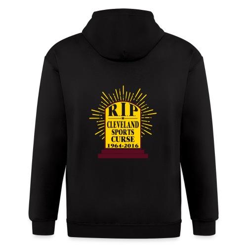 R I P Cleveland Curse - Men's Zip Hoodie