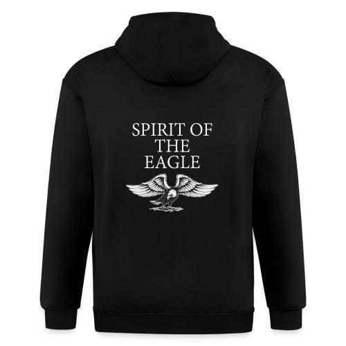 Spirit of the Eagle - Men's Zip Hoodie
