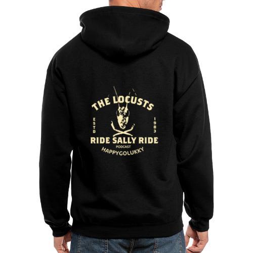 Locusts Design 2 - Men's Zip Hoodie