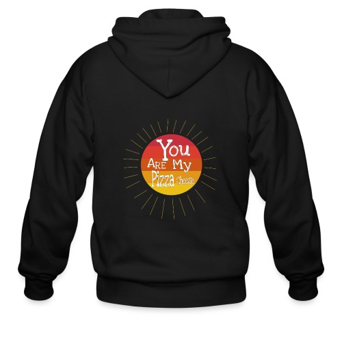 You Are My Pizza Cheese - Men's Zip Hoodie