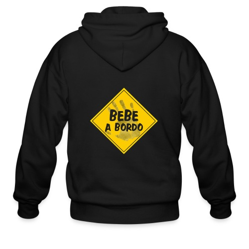 BABY ON BOARD - Men's Zip Hoodie