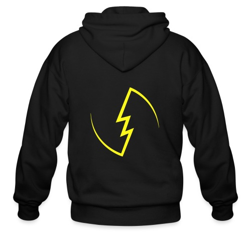 Electric Spark - Men's Zip Hoodie