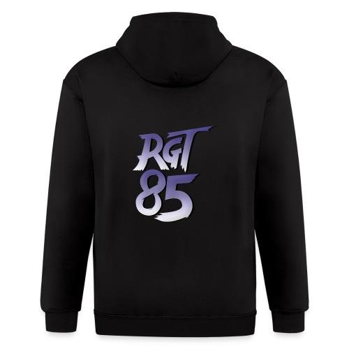 RGT 85 Logo - Men's Zip Hoodie