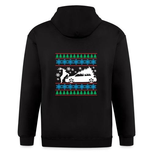 MK6 GTI Ugly Christmas Sweater - Men's Zip Hoodie