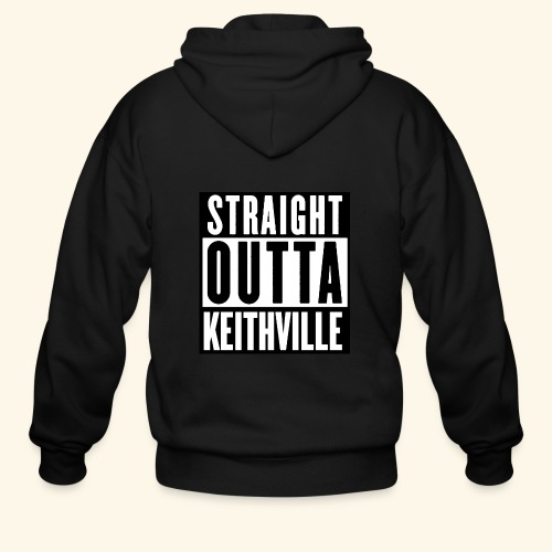 STRAIGHT OUTTA KEITHVILLE - Men's Zip Hoodie