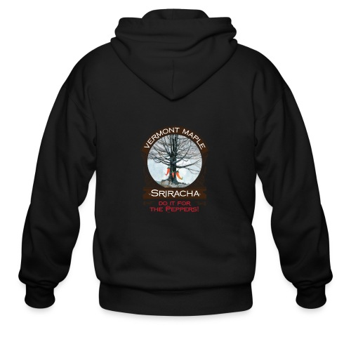 Vermont Maple Sriracha - Men's Zip Hoodie
