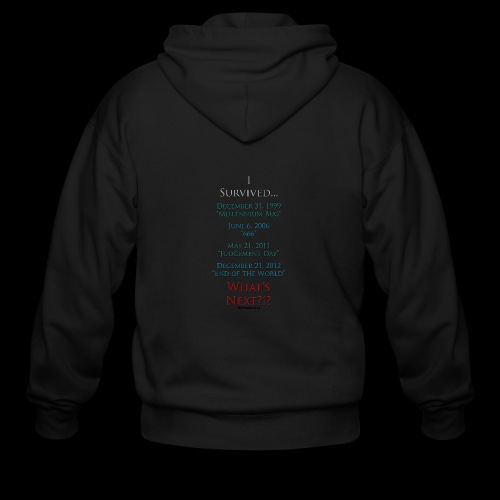 Survived... Whats Next? - Men's Zip Hoodie