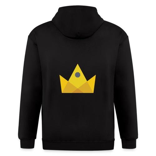 I am the KING - Men's Zip Hoodie