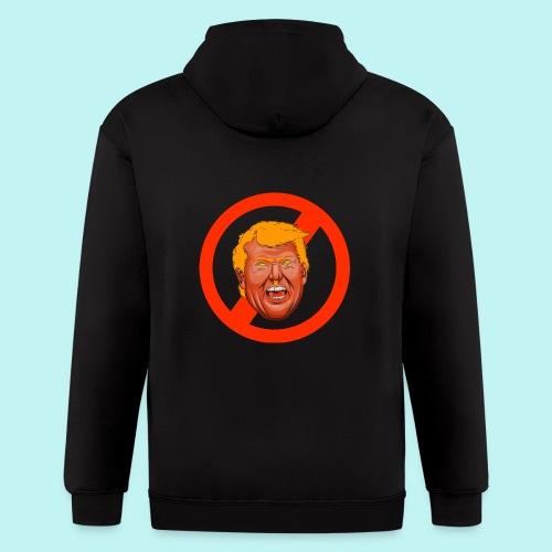 Dump Trump - Men's Zip Hoodie