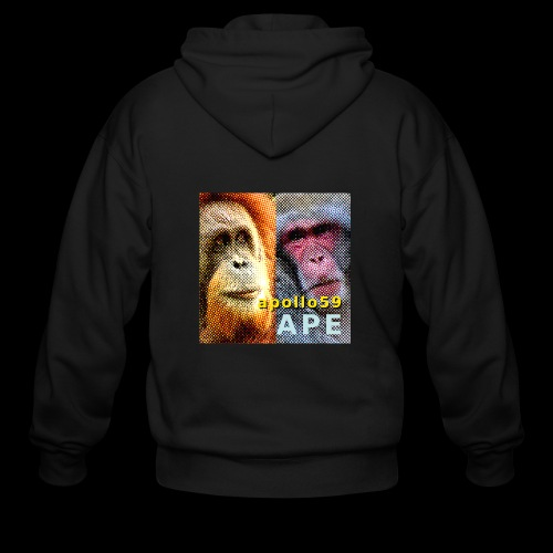 APE - Apollo59 Cover Art - Men's Zip Hoodie