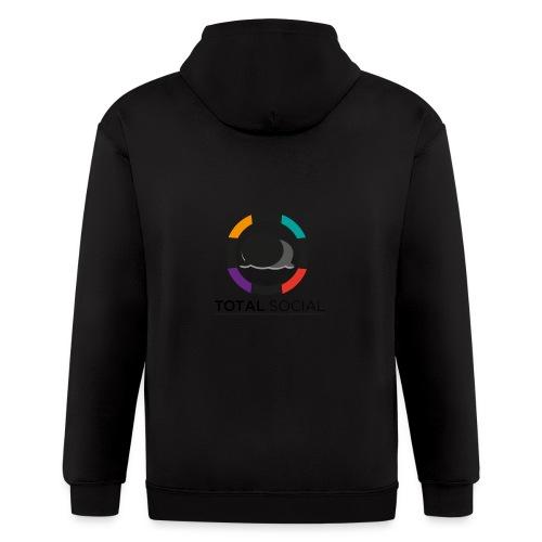 Logo_Total_Social_PNG_03 - Men's Zip Hoodie