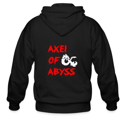Axelofabyss dragon shirt - Men's Zip Hoodie
