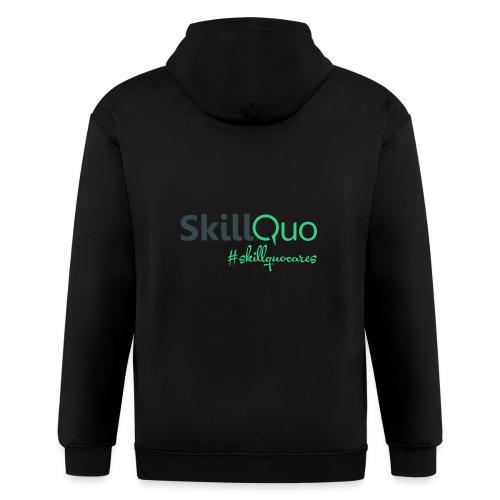#Skillquocares - Men's Zip Hoodie