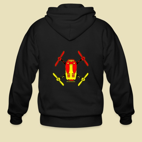GrisDismation Ongher Droning Out Tshirt - Men's Zip Hoodie