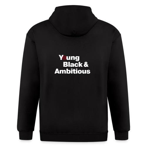 YBA Black Shirt2 - Men's Zip Hoodie