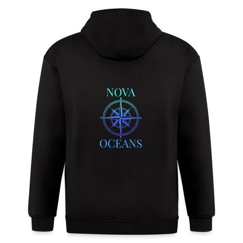 logo_nova_oceans - Men's Zip Hoodie