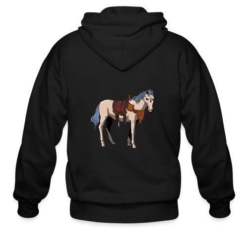 Useless the Horse png - Men's Zip Hoodie