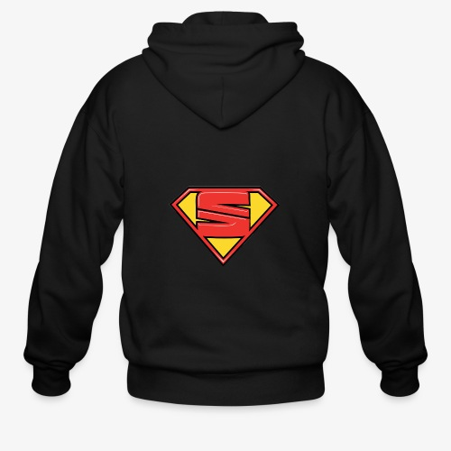 super seat - Men's Zip Hoodie