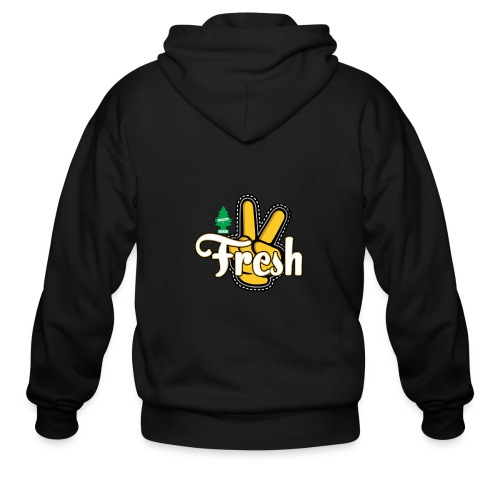 2Fresh2Clean - Men's Zip Hoodie