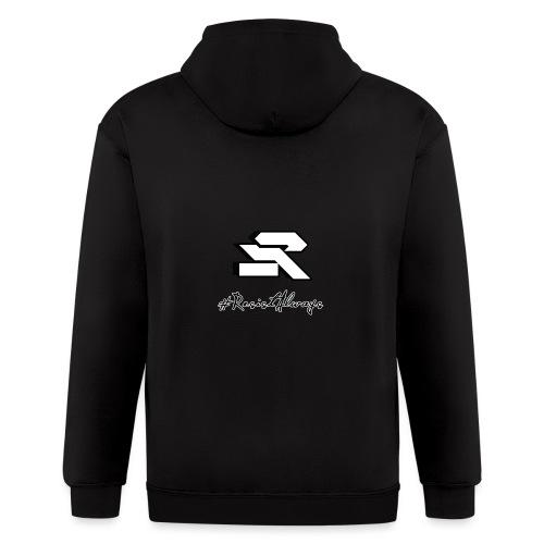 #ResistAlways Shirt - Men's Zip Hoodie
