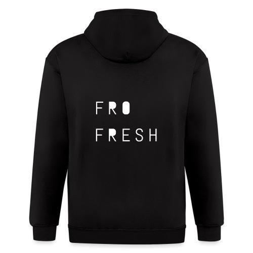 Fro fresh - Men's Zip Hoodie