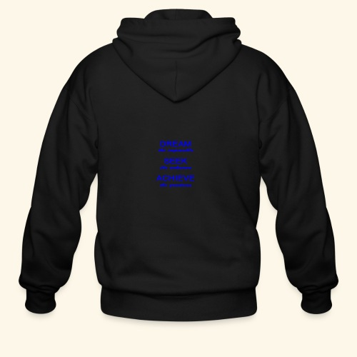 Dream - Men's Zip Hoodie