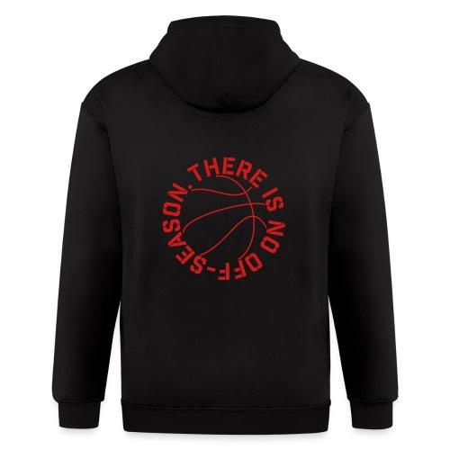 Basketball No Off Season - Men's Zip Hoodie