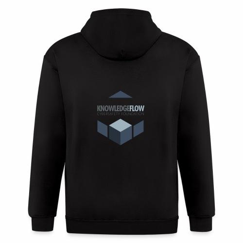KnowledgeFlow Cybersafety Foundation - Men's Zip Hoodie