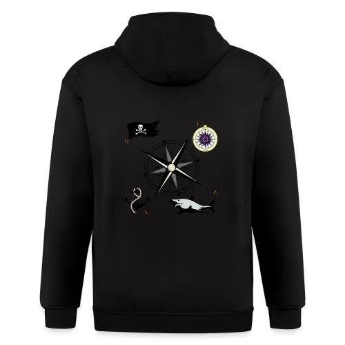Nautical Designs - Men's Zip Hoodie