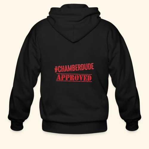 Chamber Dude Approved - Men's Zip Hoodie