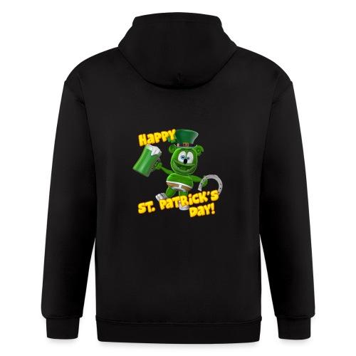 Gummibär (The Gummy Bear) Saint Patrick's Day - Men's Zip Hoodie