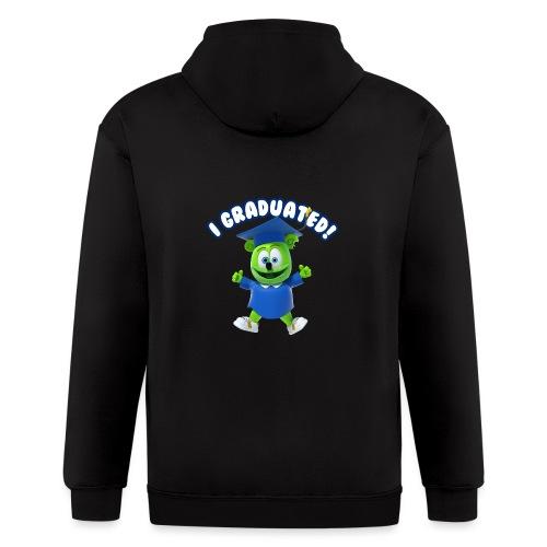 I Graduated! Gummibar (The Gummy Bear) - Men's Zip Hoodie