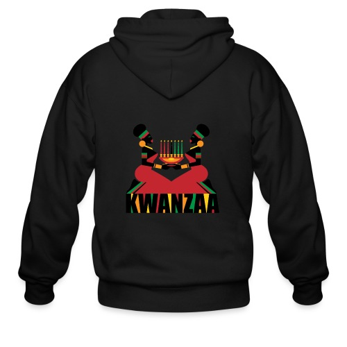 Kwanzaa - Men's Zip Hoodie