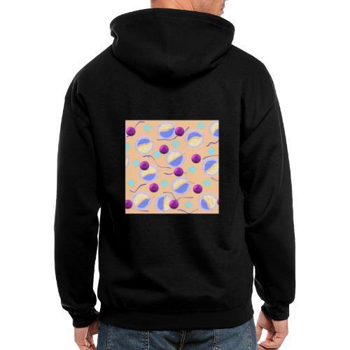 lovely cosmos - Men's Zip Hoodie