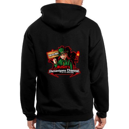 #MullettMOB MERCH - Men's Zip Hoodie