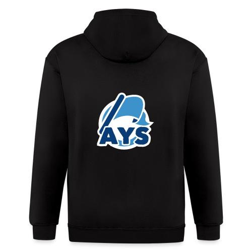 AYS Logo - Men's Zip Hoodie