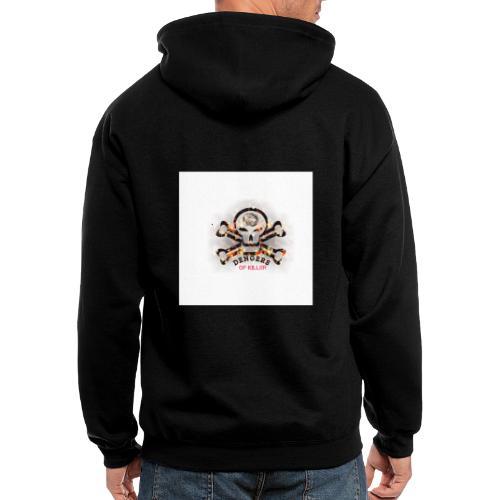 Denger wornig - Men's Zip Hoodie
